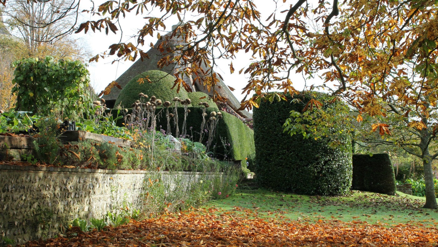Autumn at Alfriston Clergy House, East Sussex