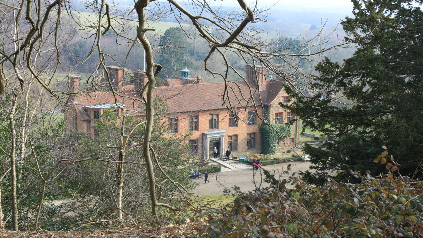 Chartwell house from Mariners Hill