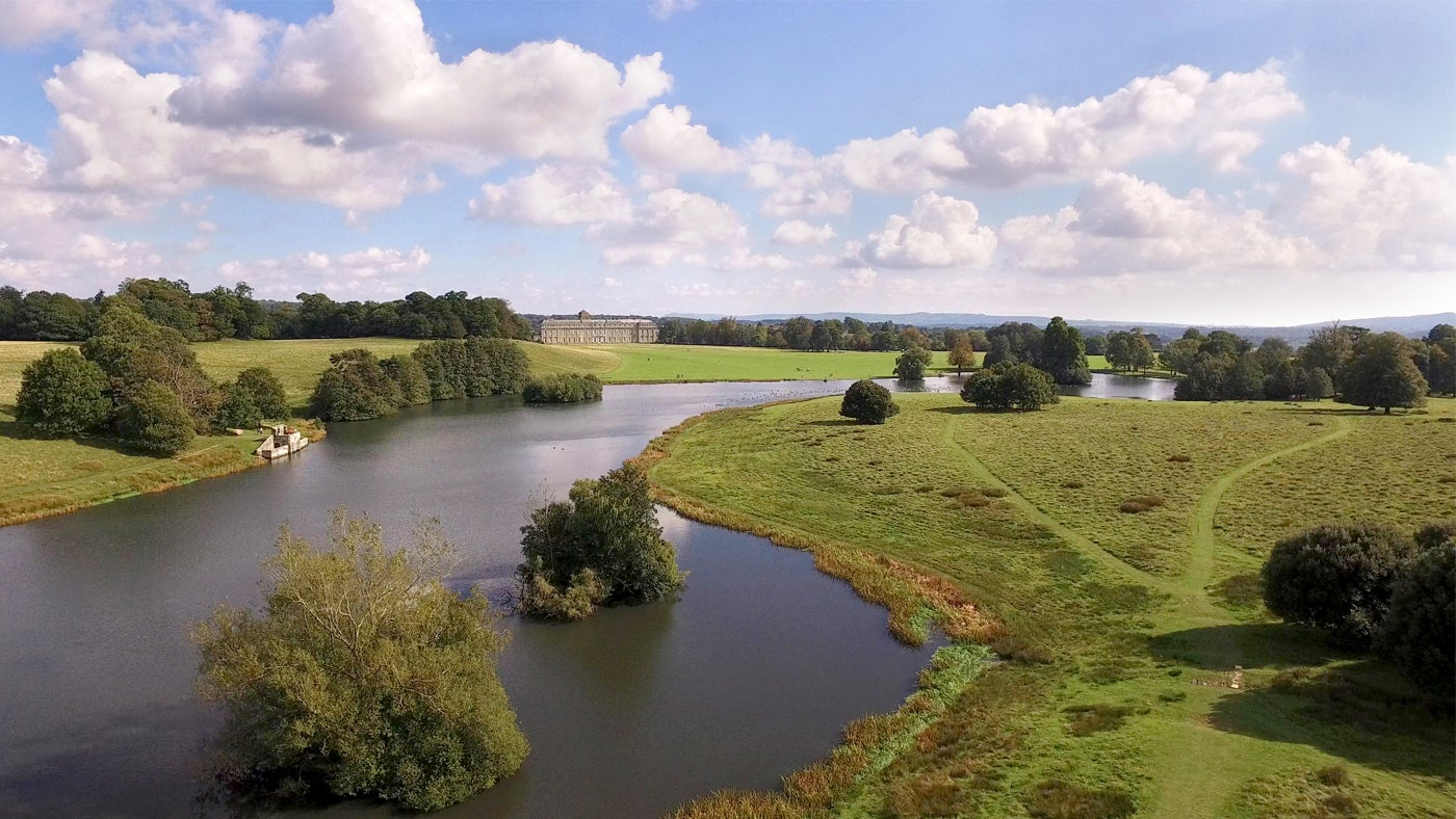 How to spot a capability brown landscape national trust for Capability brown garden designs