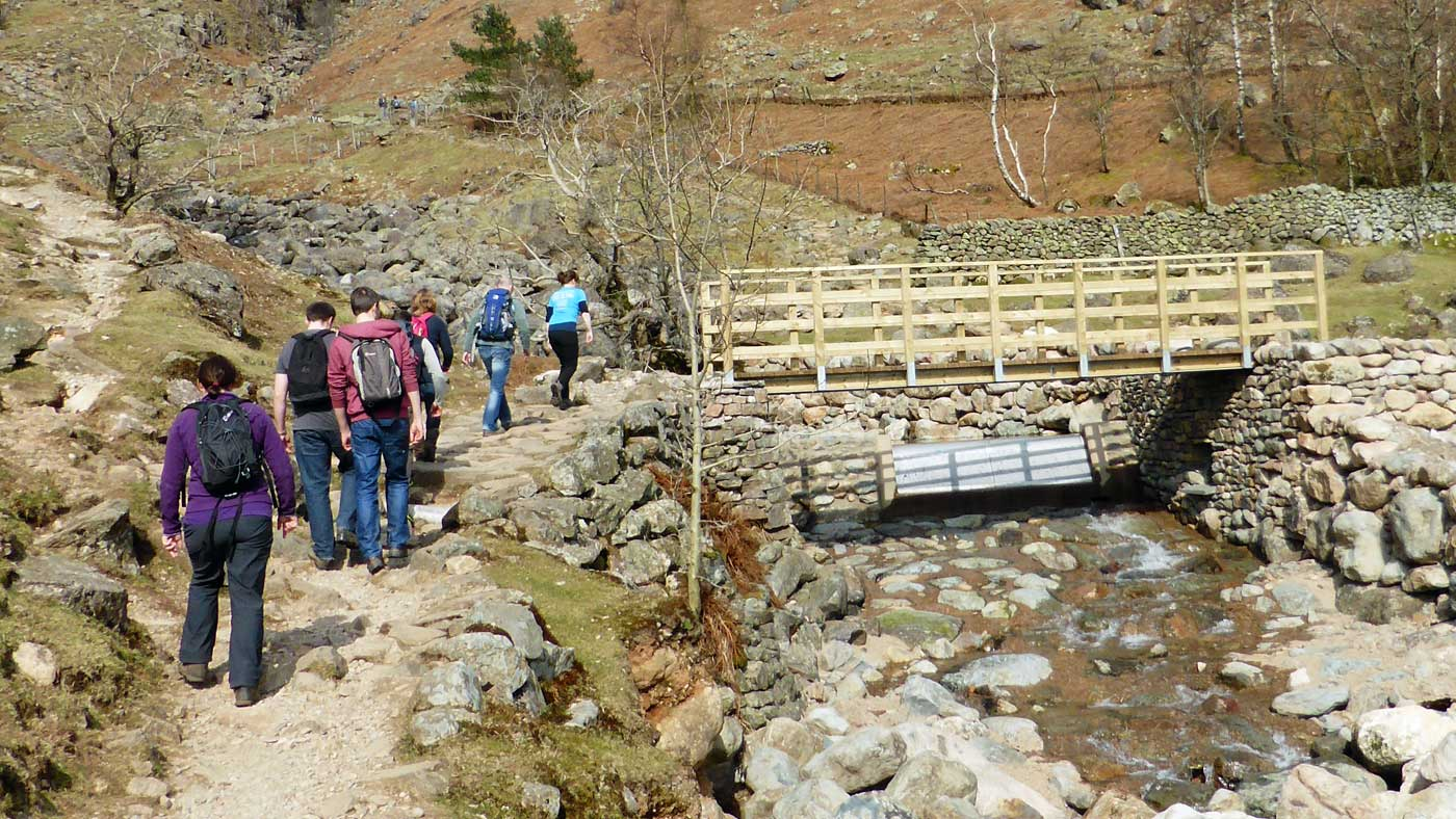 Hydro-electric scheme on Stickle Ghyll