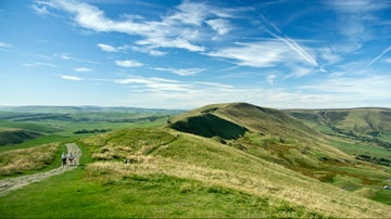 mam tor sunshine and lose hill ridge