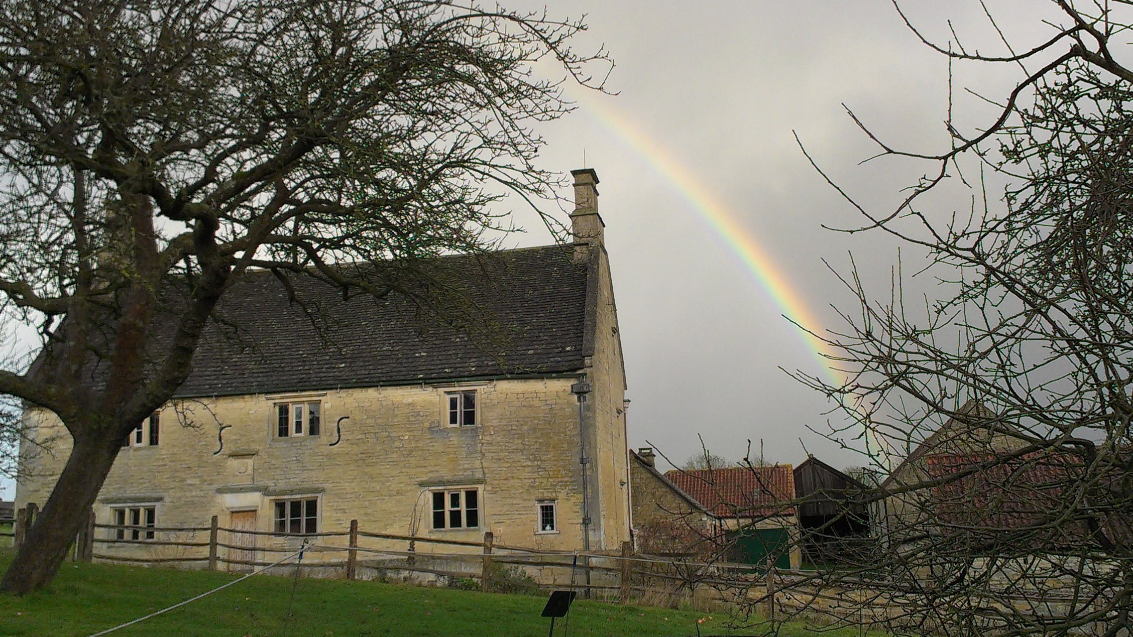 Woolsthorpe Manor, the home of Sir Isaac Newton