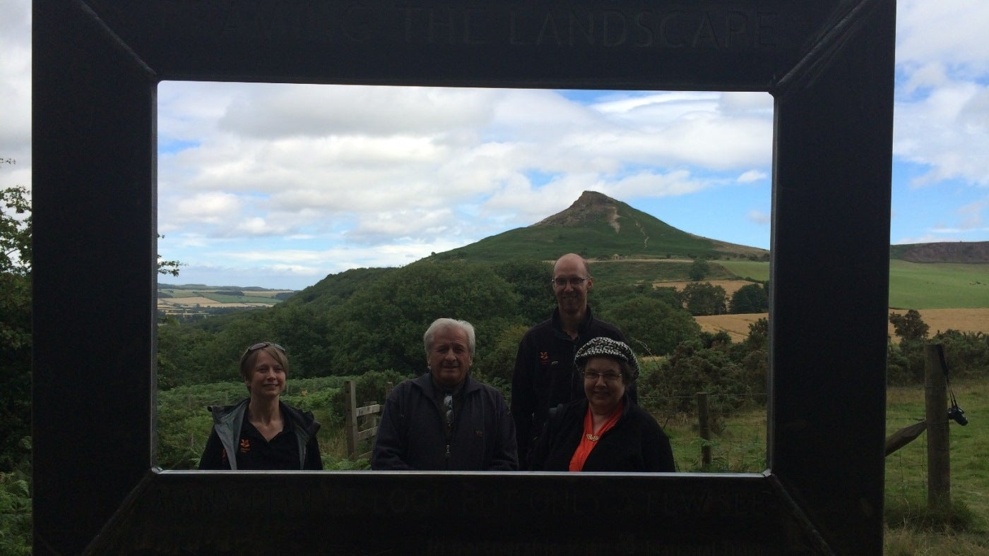 Framing the landscape at Roseberry Topping | National Trust
