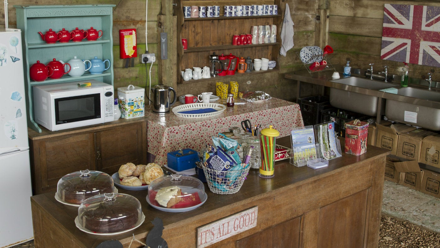 The Walkers Hut at East Soar Outdoor Experience provides hot drinks, snacks and cakes
