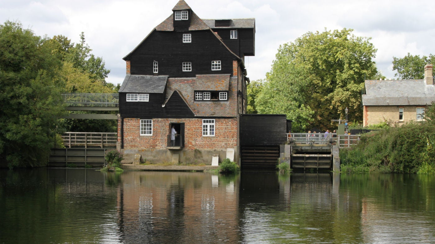 Houghton Mill in summer