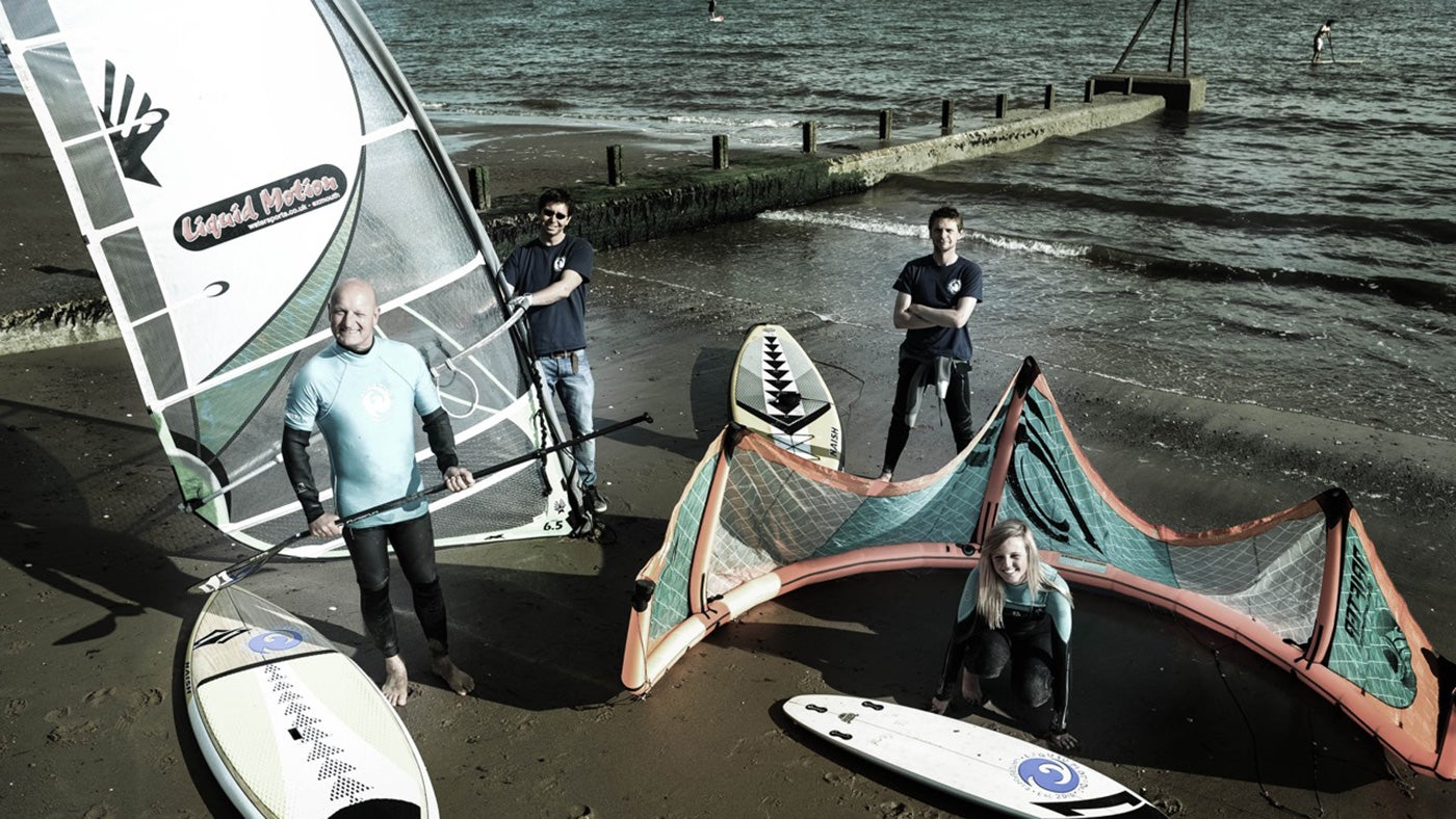 Take a trip around the Jurassic coastline with Exmouth Watersports
