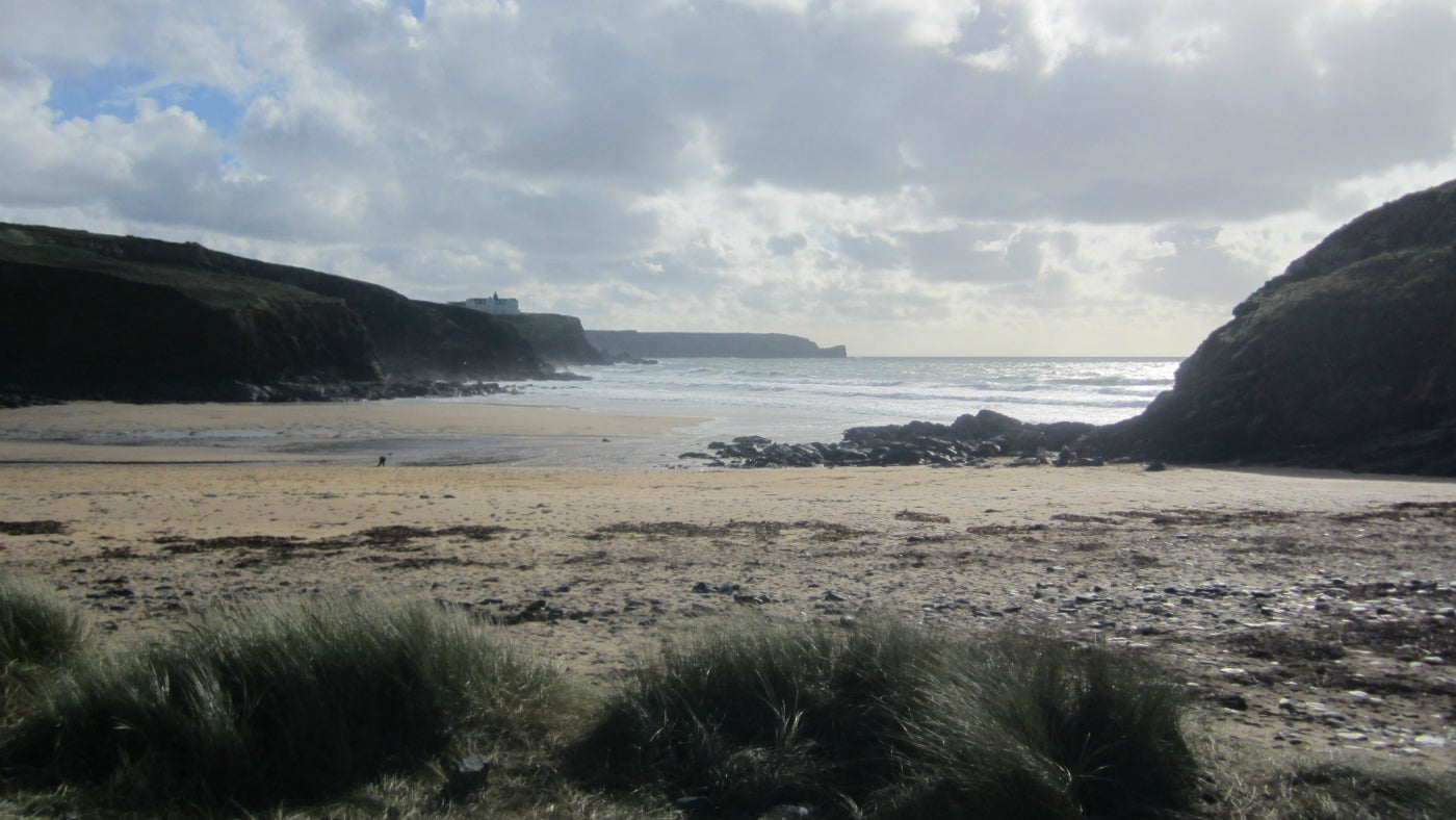 The beach at Church Cove, Gunwalloe