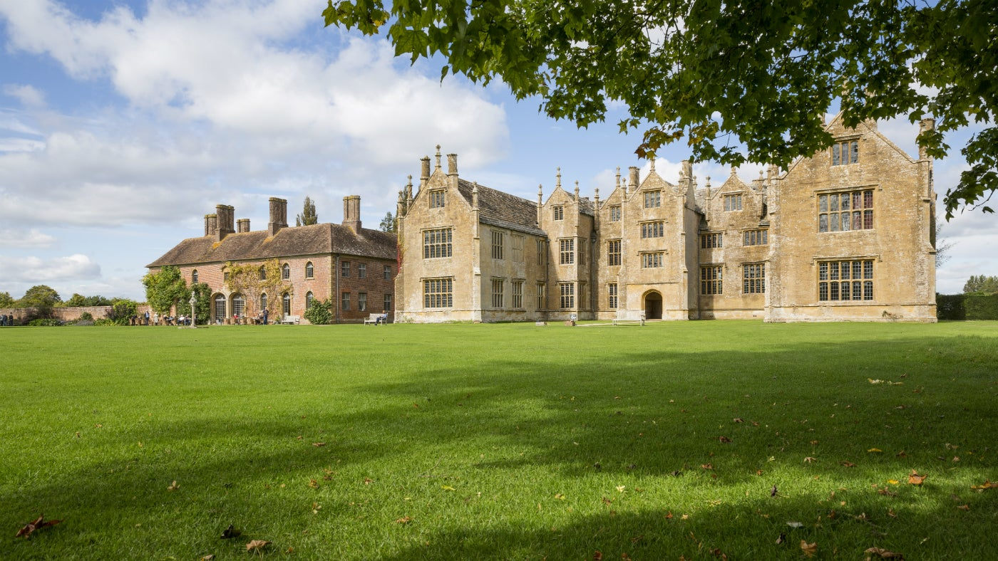 View of Barrington Court from the south lawn