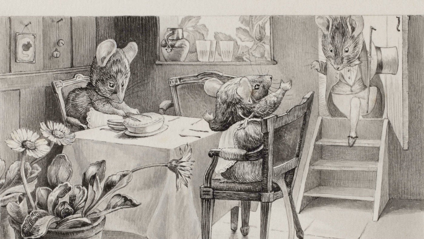 how to draw beatrix potter