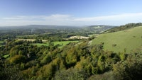 View from Reigate Hill on North Downs