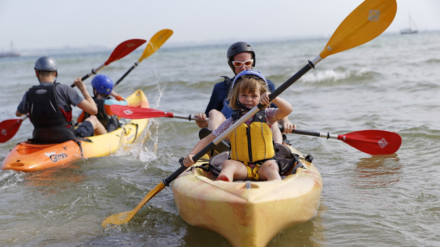 Explore the coast from the water with a taster session at The Rock: Watersports Festival