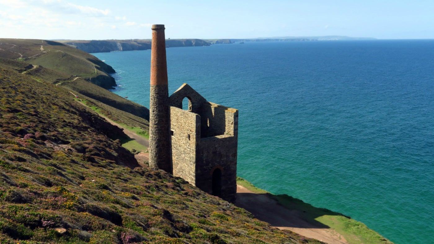 Wheal Coates Towanroath Shaft Engine House, Cornwall