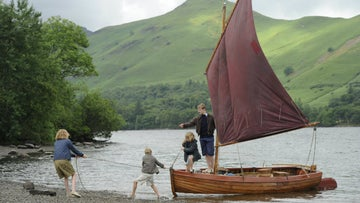 Still from the Swallows and Amazons film