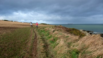 A view of Orlock Point near Donaghadee and Groomsport