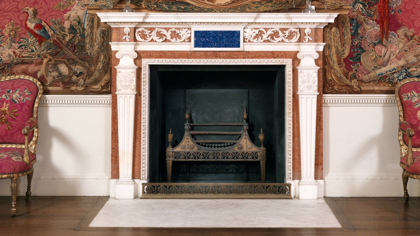 the fireplaces of croome national trust