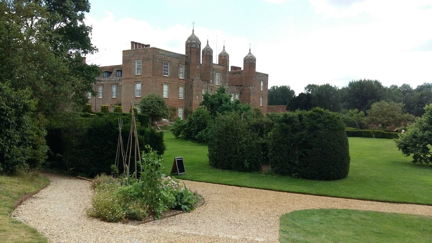 Melford Hall picture taken from Banqueting House
