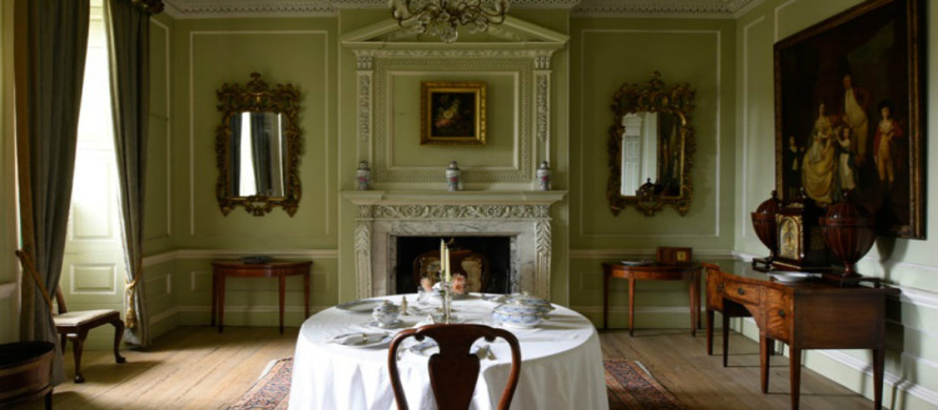 Georgian style house interior design | National Trust