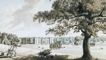 Croome Court 2 by Burney 1784