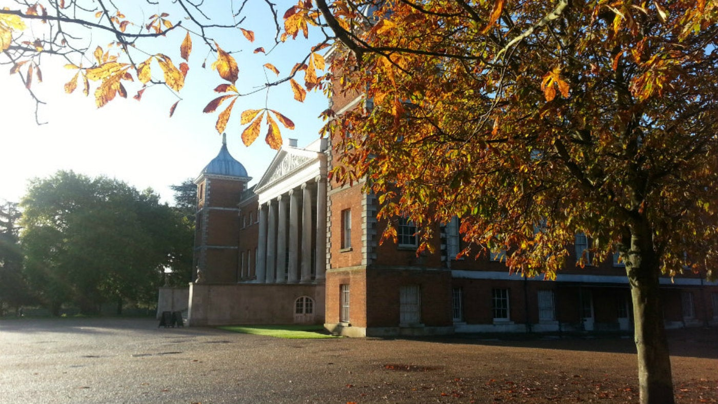 Autumn sunshine at Osterley