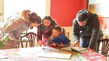 Family activities in Newark House