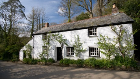 The exterior of Carne Cottage, Helston, Cornwall