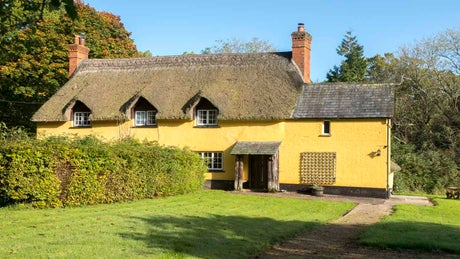 The exterior of Forest Cottage, near Exeter, Devon