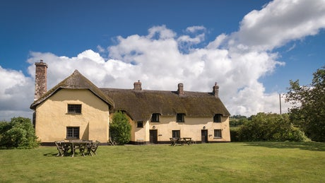 The beautiful exterior of Longmeadow Cottage, Broad Ley Cottage and Mattress Cottage, Broadclyst, Devon