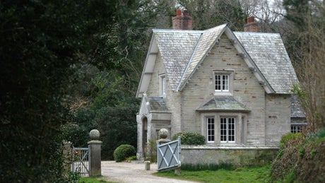 The exterior of Helston Lodge, Helston, Cornwall