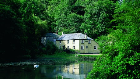 The exterior of Mohun, Pont Pill, Cornwall