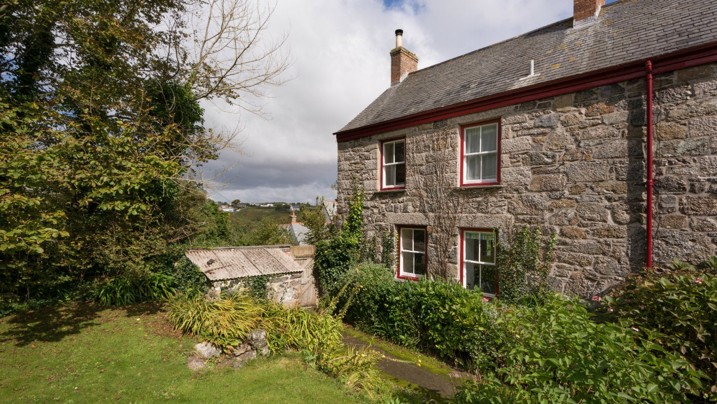 The exterior of Ruan, Cadgwith, The Lizzard, Cornwall