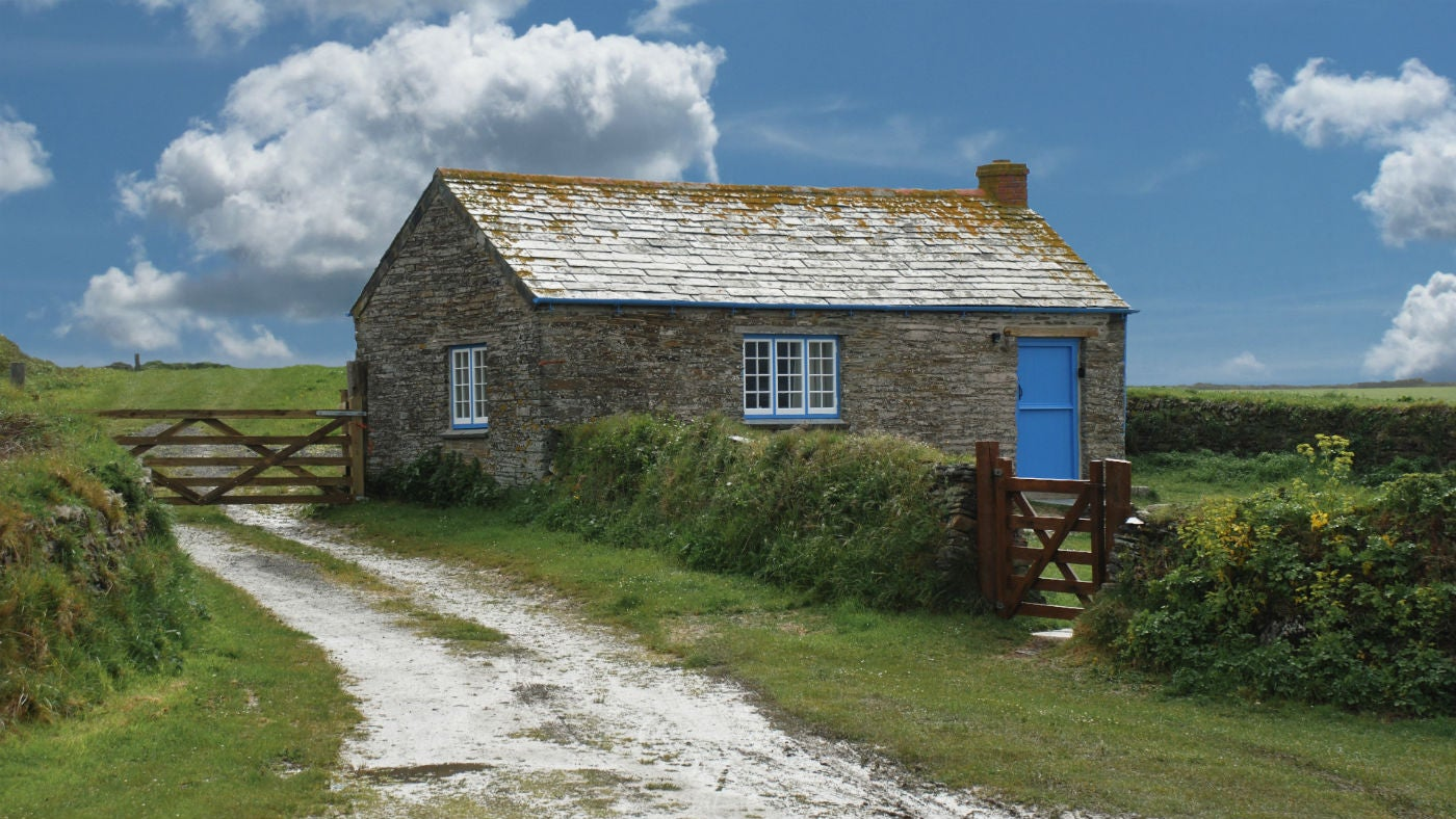 The exterior of Skippers Cabin, nr Padstow, Cornwall