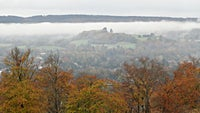 Autumn on Denbies Hillside Surrey