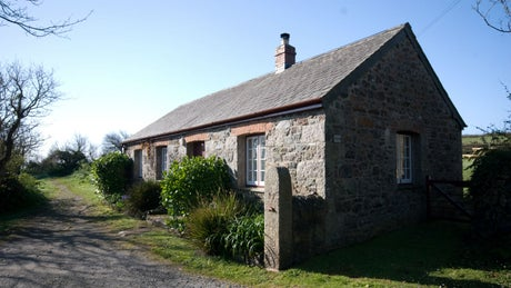 The exterior of Townplace, Cadgwith, Helston, Cornwall