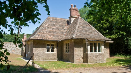 Exterior of Summerhouse Cottage, Wraxall, Somerset