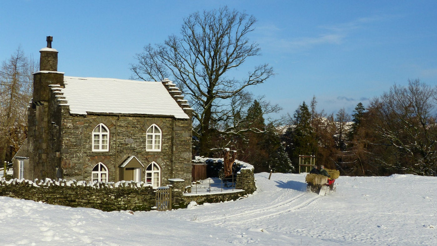 Winter breaks in the lakes national trust for Castle and cottage home collection