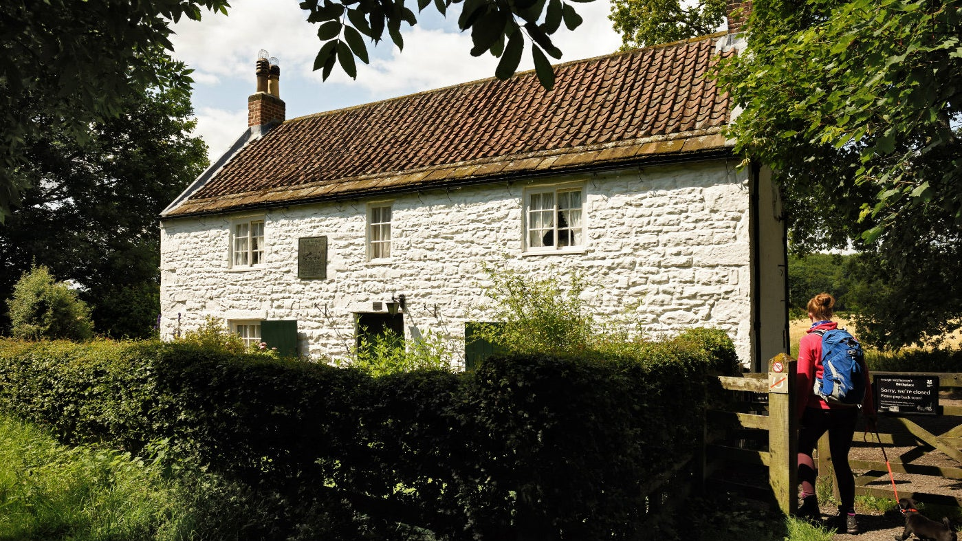 The exterior of George Stephenson's birthplace