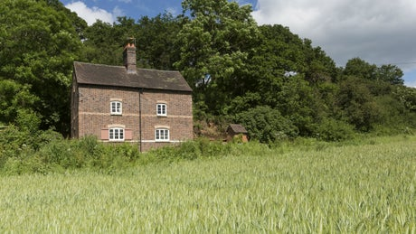 The exterior of 1 Sternsmill Cottage, nr Bridgnorth, Shropshire