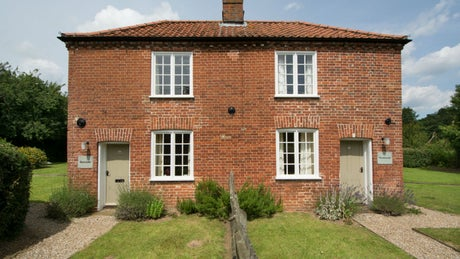 exterior of Bureside, nr Aylsham, Norfolk