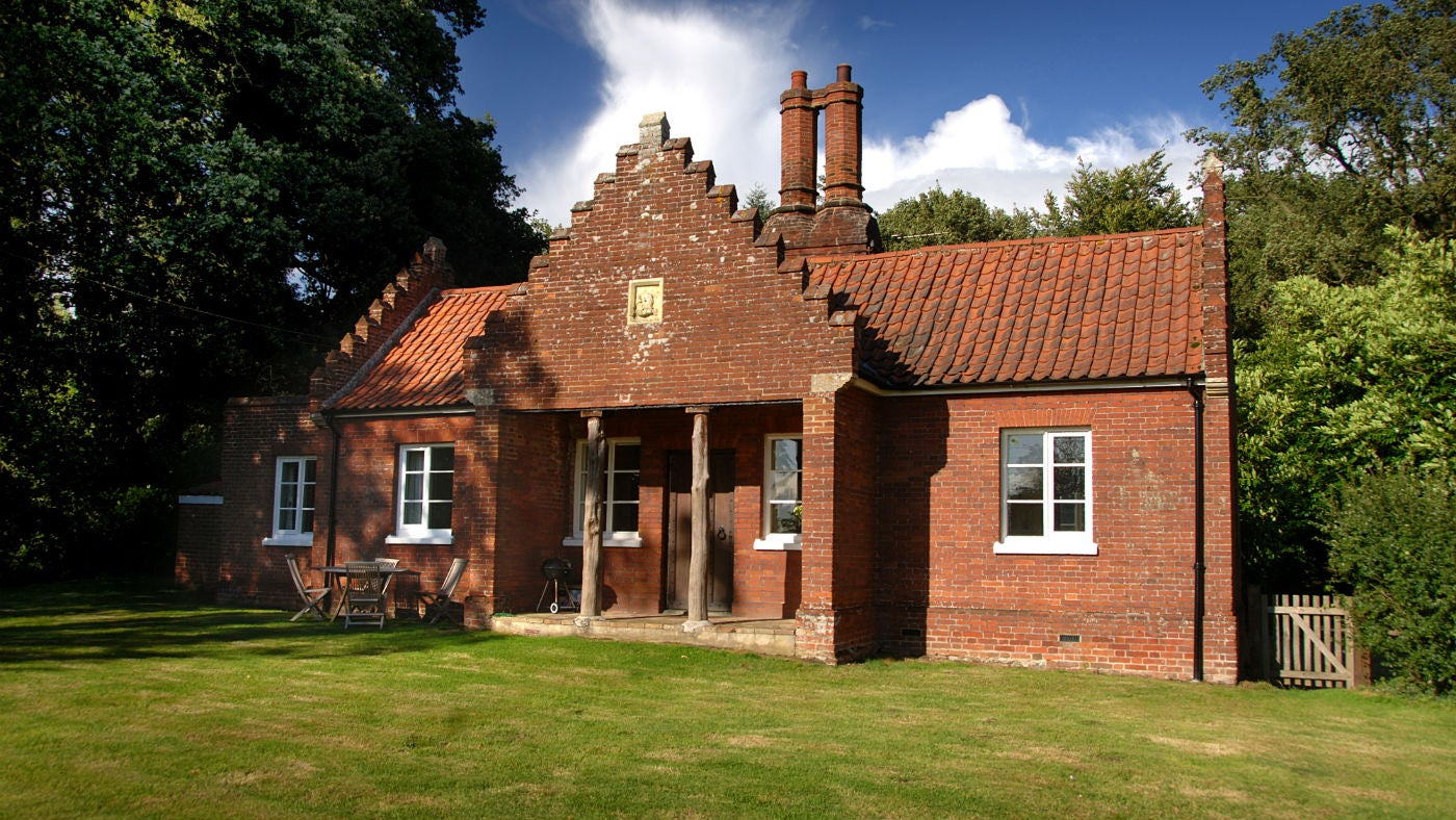 The exterior of Game Keepers Cottage, Felbrigg, Cromer, Norfolk