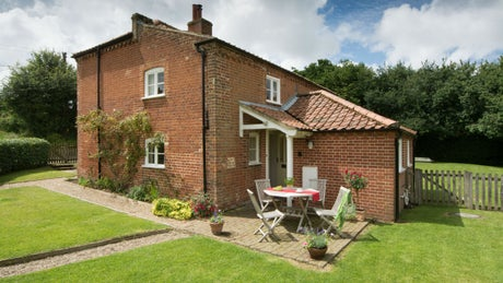 The exterior of Meadowside, nr Aylsham, Norfolk