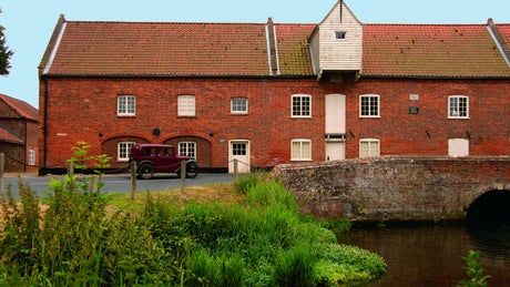 The exterior of Millstream,Burnham-Overy-Staithe, Norfolk