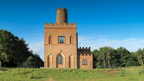 The exterior of The Tower, nr Aylsham, Norfolk