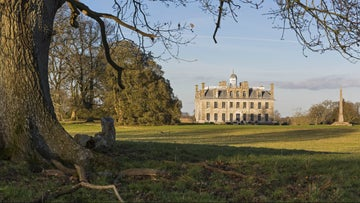 Kingston Lacy house in winter