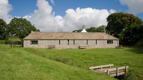Exterior view of Byre 3, Stackpole Estate, Pembroke, South Wales