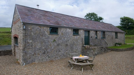 Exterior of Granary, Stackpole Estate, Pembroke