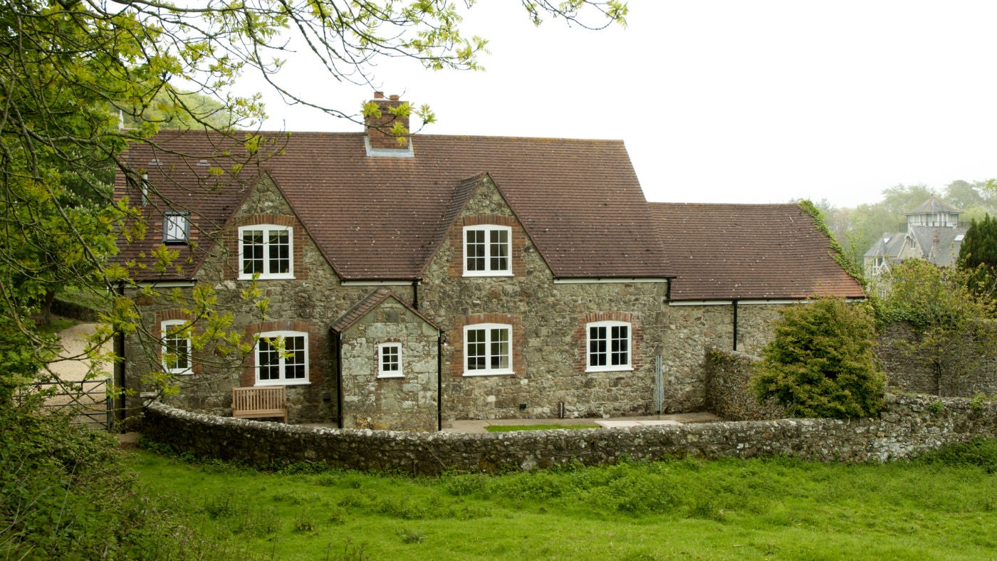 The exterior of Wydcombe, Whitwell, Isle of Wight