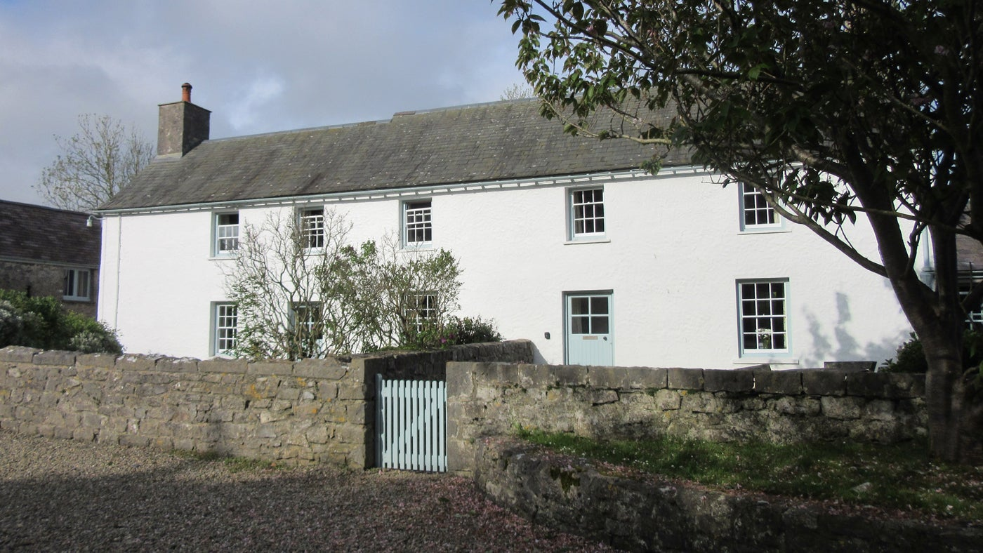 Exterior of Farm Cottage, Pembroke, Pembrokeshire