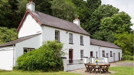Exterior of The Cwms, Near Amroth, Pembrokeshire