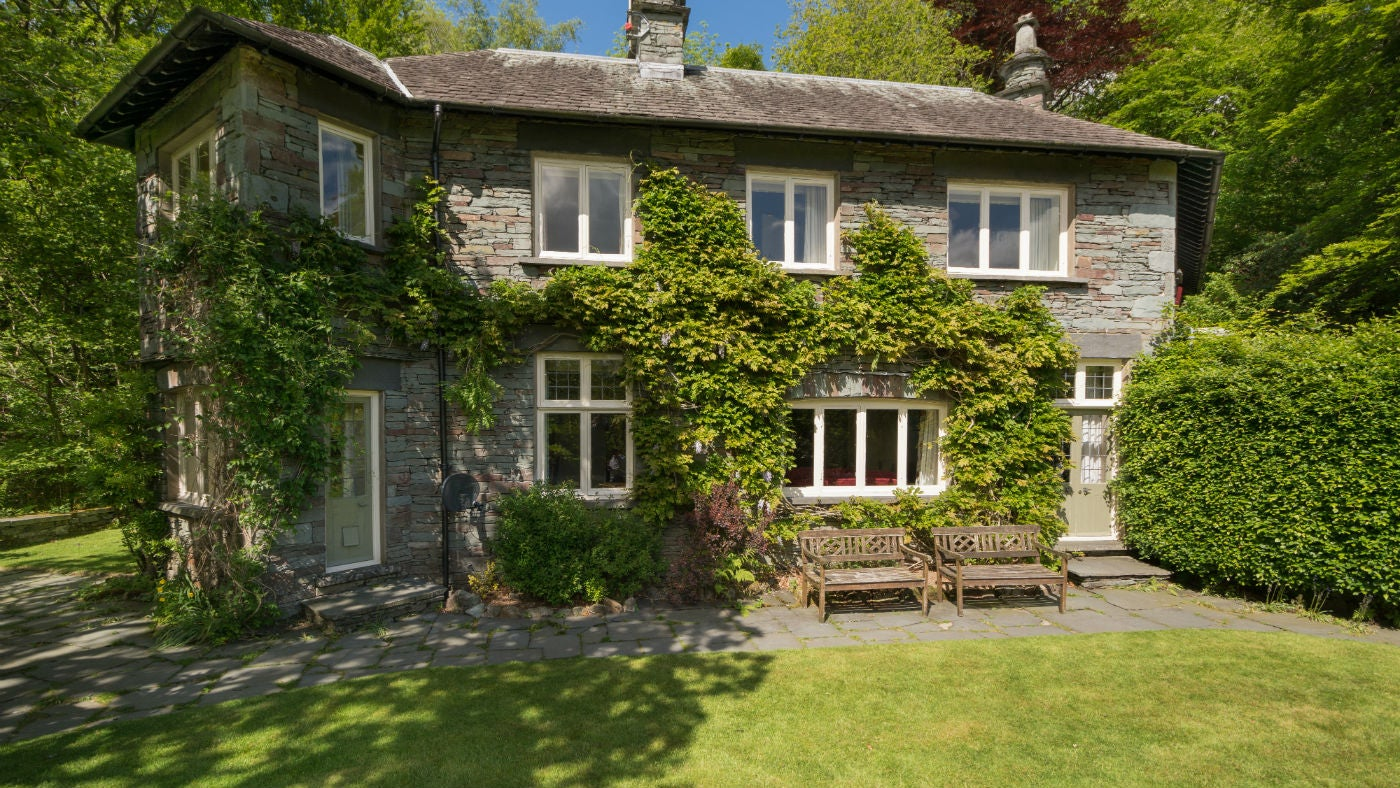 The exterior of Silverthwaite, Ambleside, Cumbria