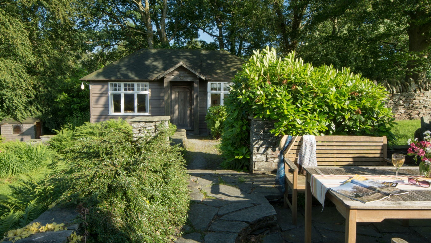 The exterior of The Summer House, Hawkshead, Ambleside, Cumbria